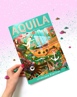 May Aquila Cover - Jasmine Floyd
