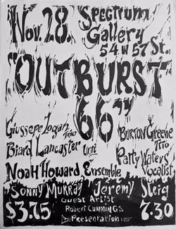 Outburst Flyer