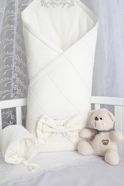 Конверт-одеяло на выписку из роддома Odelis - бежевый