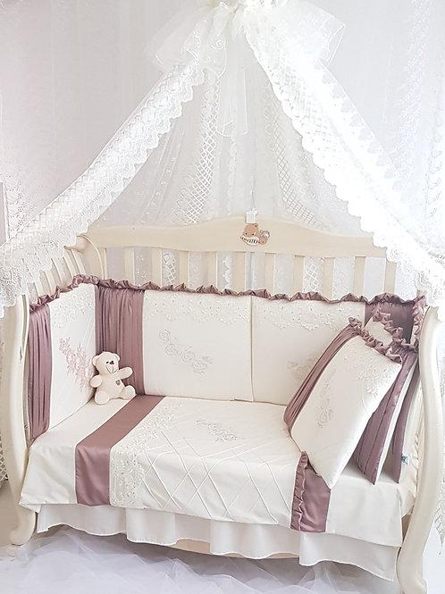 """Купить бортики в детскую кроватку для новорожденных """"Graсia"""""""