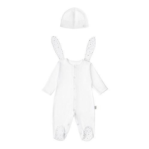"""Комбинезон и шапочка для новорожденного """"Little Bunny"""""""