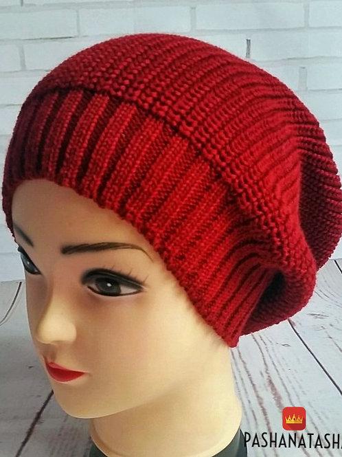 Купить в интернет магазине вязаную шапку