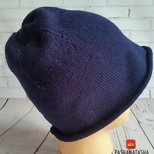 Купить вязаную шапку весной
