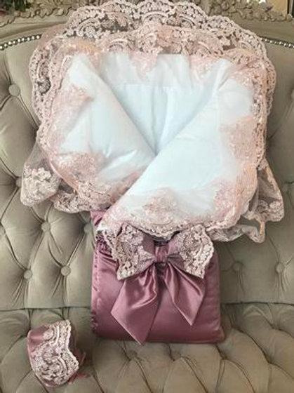 Одеяло конверт на выписку для новорожденного купить