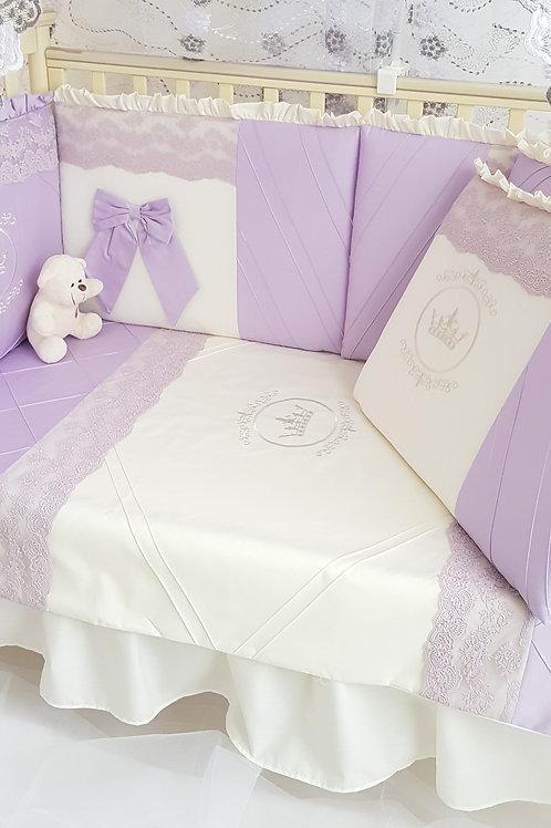 Бортики в детскую кроватку для новорожденных купить в интернет-магазине www.pashanatasha.ru