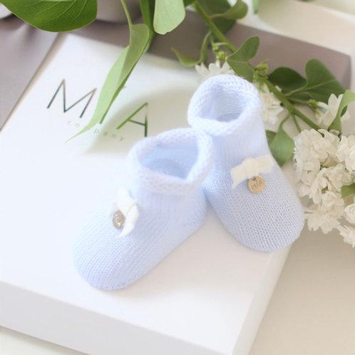 Детские вязаные носки купить