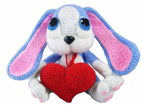 Купить зайца вязаного крючком