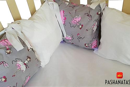 Бортики в кроватку для новорожденного купить