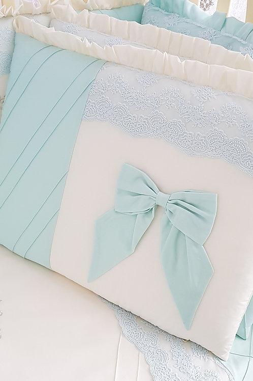 Бортики в кроватку для новорожденных Areseli ментол изображение