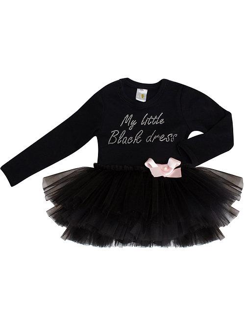 """Купить боди """"My little black dress"""" с черной юбочкой"""