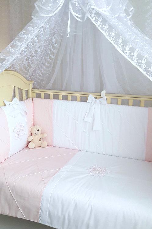 Купить набор в детскую кроватк для новорожденного