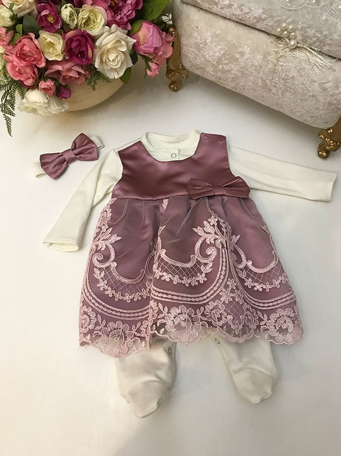 Платье на выписку для новорожденных Герцогиня