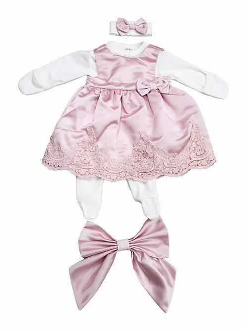 Одежда для новорожденной девочки на выписку