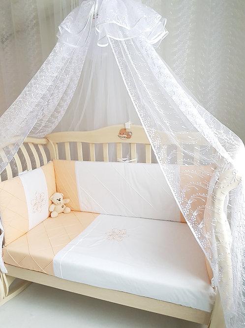 Набор постельного белья для новорожденных в кроватку