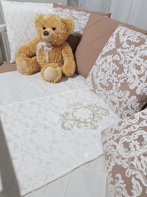 """Бортики подушки в кроватку для новорожденных """"Vinsent"""""""