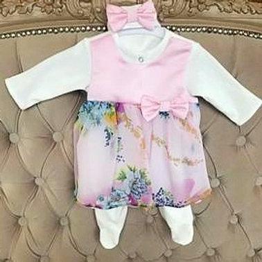 Нарядная одежда для новорожденных девочек на выписку