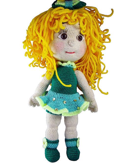 Купить вязаную куклу ручной работы