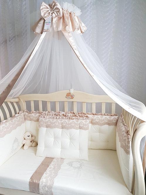 Бортики в кроватку Margaret купить в интернет-магазине www.pashanatasha.ru
