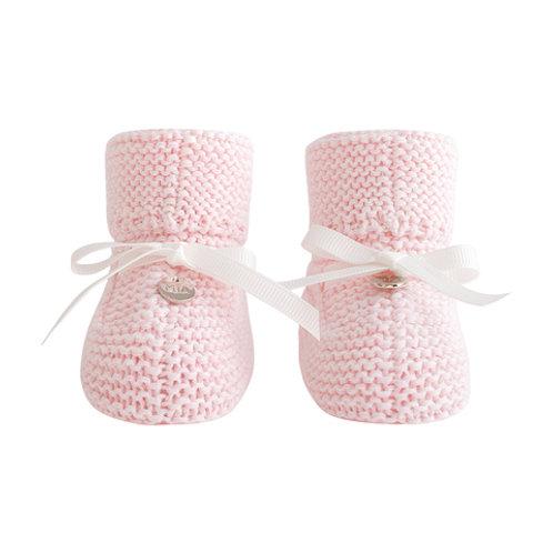 Пинетки из хлопка для новорожденной девочки купить