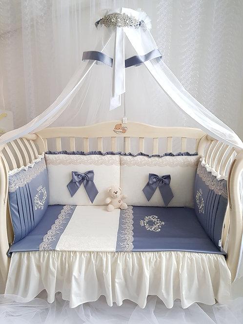 Купить набор в детскую кроватку для новорожденного /www.pashanatasha.ru