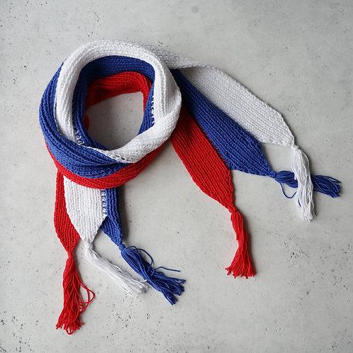 Купить шарф триколор