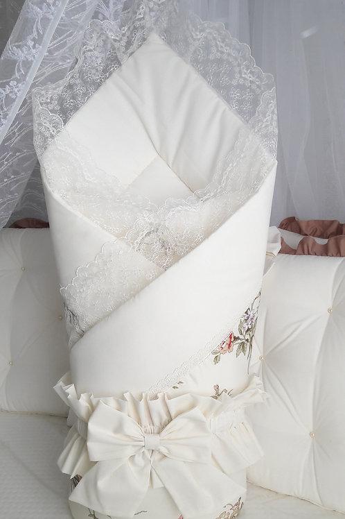"""Детский конверт одеяло для выписки """"Аdelin Luxury"""" фото"""