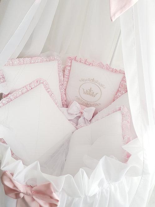 Бортики для круглой и овальной кроватки Amanda купить в интернет-магазине www.pashanatasha.ru