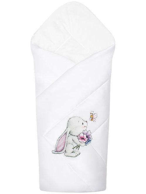 """Конверт-одеяло на выписку """"Зайчонок"""""""