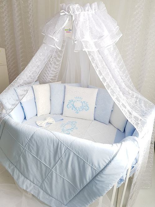 Бортики подушки в кроватку для новорожденных купить