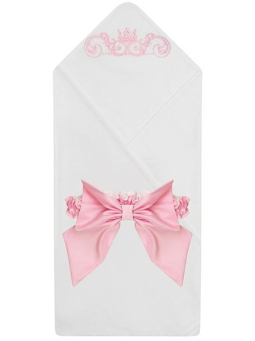 Красивый плед для новорожденного купить в интернет-магазине www.pashanatasha.ru