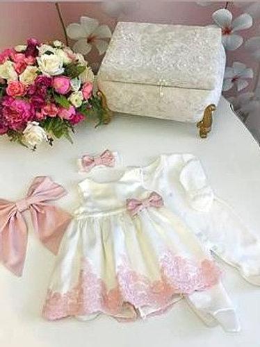 Платье на выписку из роддома для девочки
