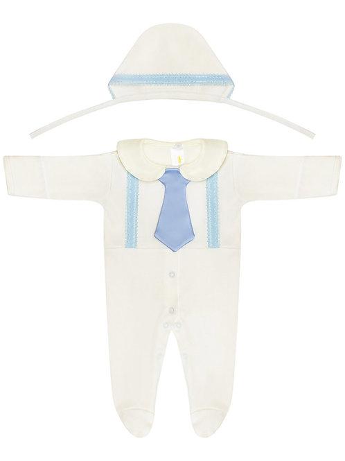 """Комбинезон для новорожденного мальчика """"Денди"""" купить"""