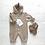 Комбинезон вязаный Nati Sand (Нати Песочный) купить для новорожденного