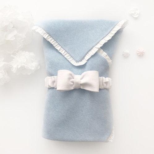 """Купить конверт на выписку весенний """"Premium blue"""" в Москве"""