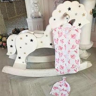 Пеленка кокон для новорожденных на молнии купить