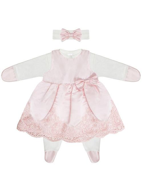 Одежда для девочки на выписку из роддома
