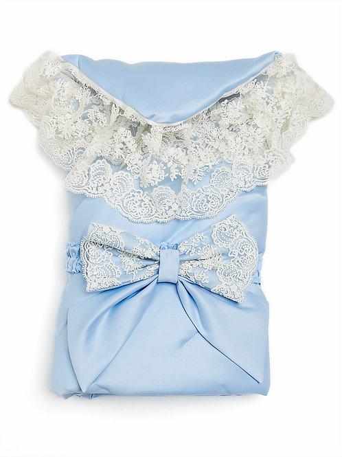 Конверт-одеяло для мальчика на выписку купить в интернет-магазине www.pashanatasha.ru