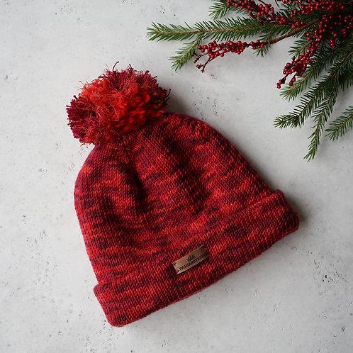 Купить вязаную шапку из мериноса в Москве