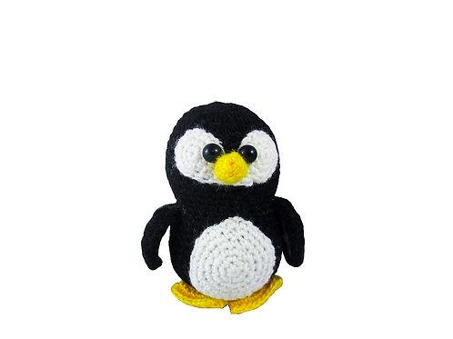 Вязаный пингвин игрушка купить москва