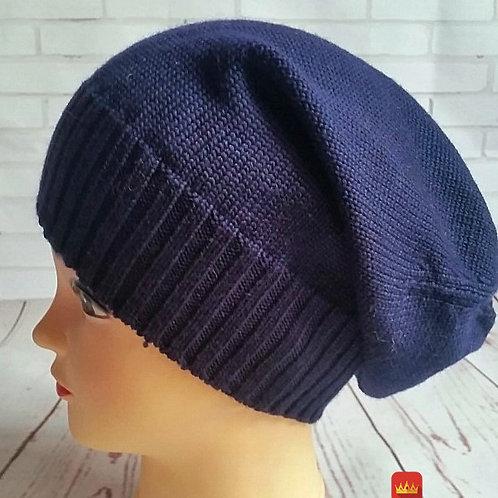 Купить красивую вязаную шапку