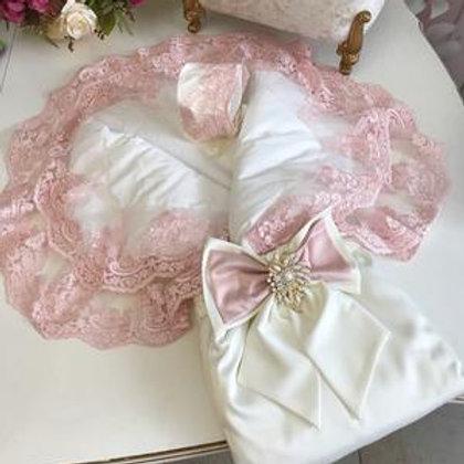 Купить конверт-одеяло для новорожденного на выписку