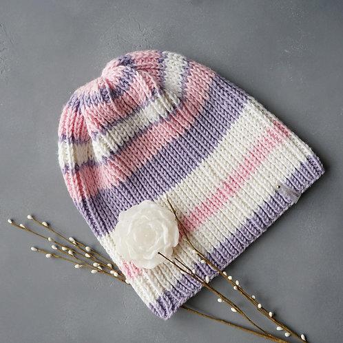 Купить женскую шапку большого размера