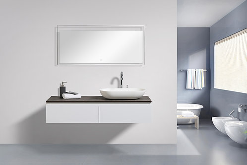Ovai 48 Wall Mount Modern Bathroom Vanity With Vessel Sink Right Homesmartmall