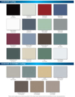 Storefront windows color
