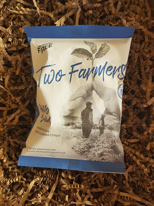 Two Farmers Individual 40g bag Lightly Salted Crisps