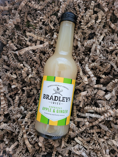 Bradleys Apple and Ginger Juice 250ml