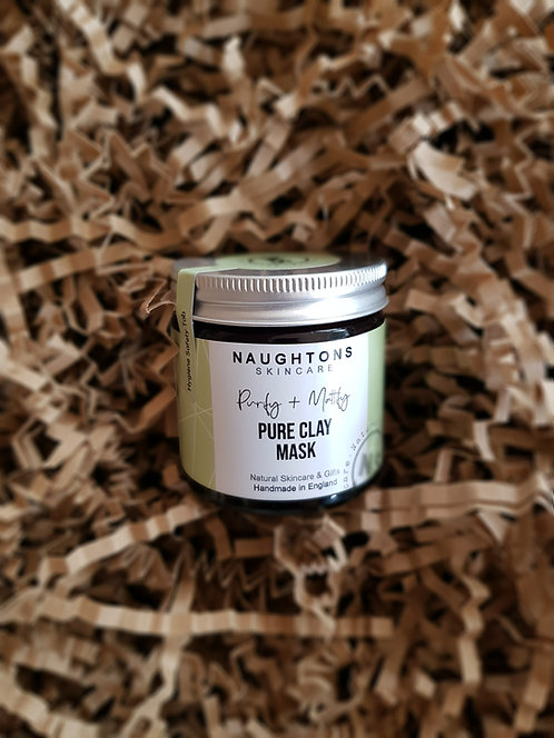 Naughtons Skincare Pure Clay Face Mask