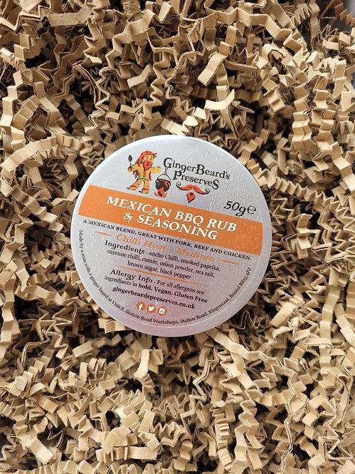 GingerBeard's Preserves - Mexican BBQ Rub & Seasoning
