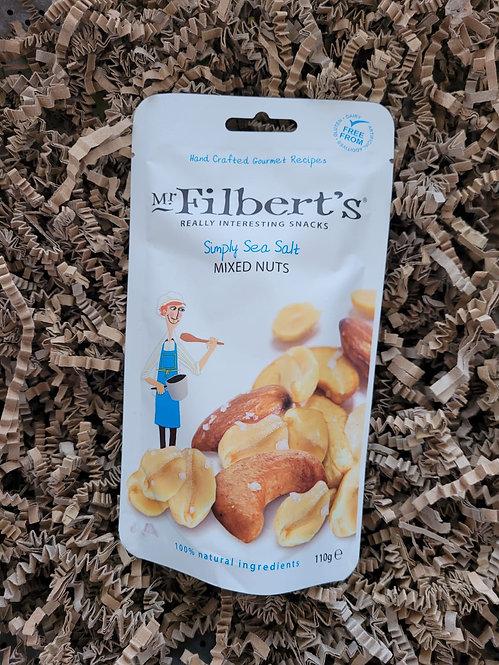 Mr Filbert's Simply Sea Salt Mixed Nuts 110g