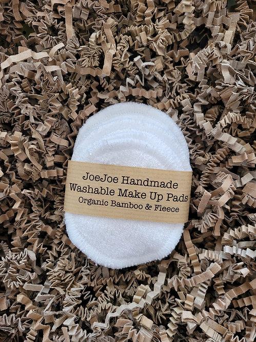 JoeJoe Handmade Washable Make Up Pads
